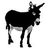 Vector clipart: donkey