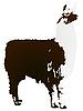 Vector clipart: image Llama
