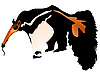 Vector clipart: anteater