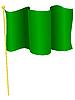 Vektor Cliparts: die Flagge Libyen