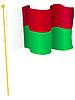 Vektor Cliparts: Flagge von Madagaskar