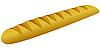 Векторный клипарт: Французский хлеб.