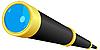 Векторный клипарт: Телескопа.