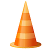 Vector clipart: Traffic cone