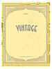 Vector clipart: Vintage label