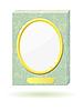 Vector clipart: marble slab with frame for photos