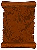 Vector clipart: Brown leather roll