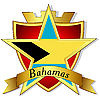 gold star to the flag of Bahamas th