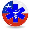 Anzeichen nationale Medizin von Chile