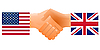 Sign of friendship the United States and United Kingdom