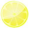 Векторный клипарт: Изображение ломтики лимона