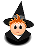 Vector clipart: Little Wizards