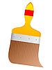 Векторный клипарт: изображение кисти