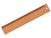 Vector clipart: wooden ruler