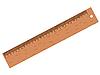 Векторный клипарт: деревянная линейка
