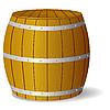 Vector clipart: image barrel