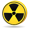 Vector clipart: radiation sign