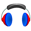 Vector clipart: headphones