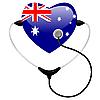 Vector clipart: Medicine Australia