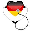 Векторный клипарт: Медицина Германии