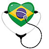 Vector clipart: Medicine in Brazil