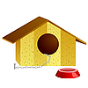 Vector clipart: doghouse