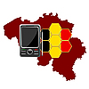 Vector clipart: Mobile Communications Belgium