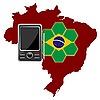 Vector clipart: Mobile Communications Brazil