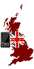 Vector clipart: Mobile Communications United Kingdom