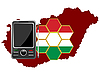 Vector clipart: Mobile Communications Hungary