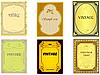 ID 3197488 | Kolekcja starych etykiet pionowych | Klipart wektorowy | KLIPARTO