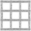 Vector clipart: wooden lattice