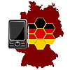 Vector clipart: Mobile Communications Germany