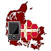 Vector clipart: Mobile Communications Denmark