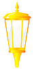 Vector clipart: Golden Lantern.