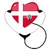 Vector clipart: Medicine Denmark