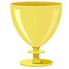 Vector clipart: golden bowl