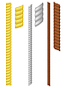 Vector clipart: set of ropes