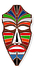 Vector clipart: The African mask