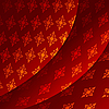 Vector clipart: background of red tissue
