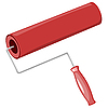 Vector clipart: roller for painting