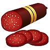 Vector clipart: Salami.