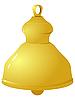 Vector clipart: golden bells