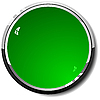 green round web button