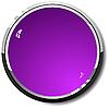 Векторный клипарт: круглая фиолетовая веб-кнопка