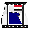 Vector clipart: image footage with map of Egypt