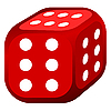 Vector clipart: abstract dice