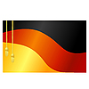 Vector clipart: the flag of Germany and