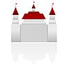 Vector clipart: castle