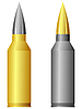 Vector clipart: rifle cartridge